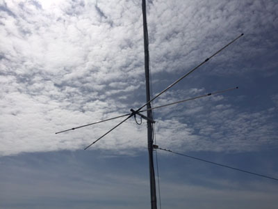 4m/6m Dualband Dipole
